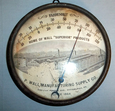 advertising thermometers identification and value guide