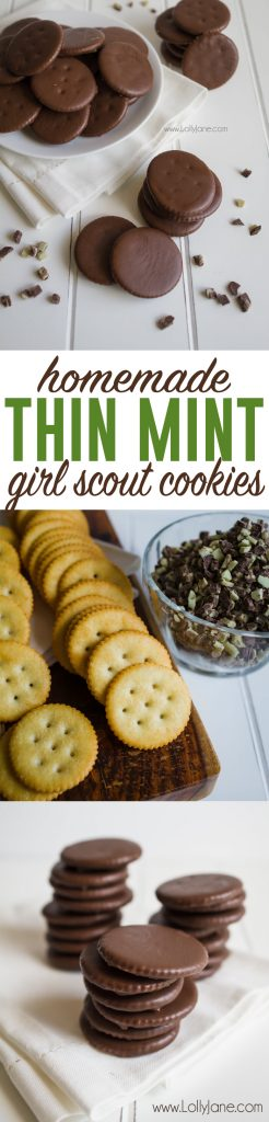 chocolate mint girl guide cookies ingredients