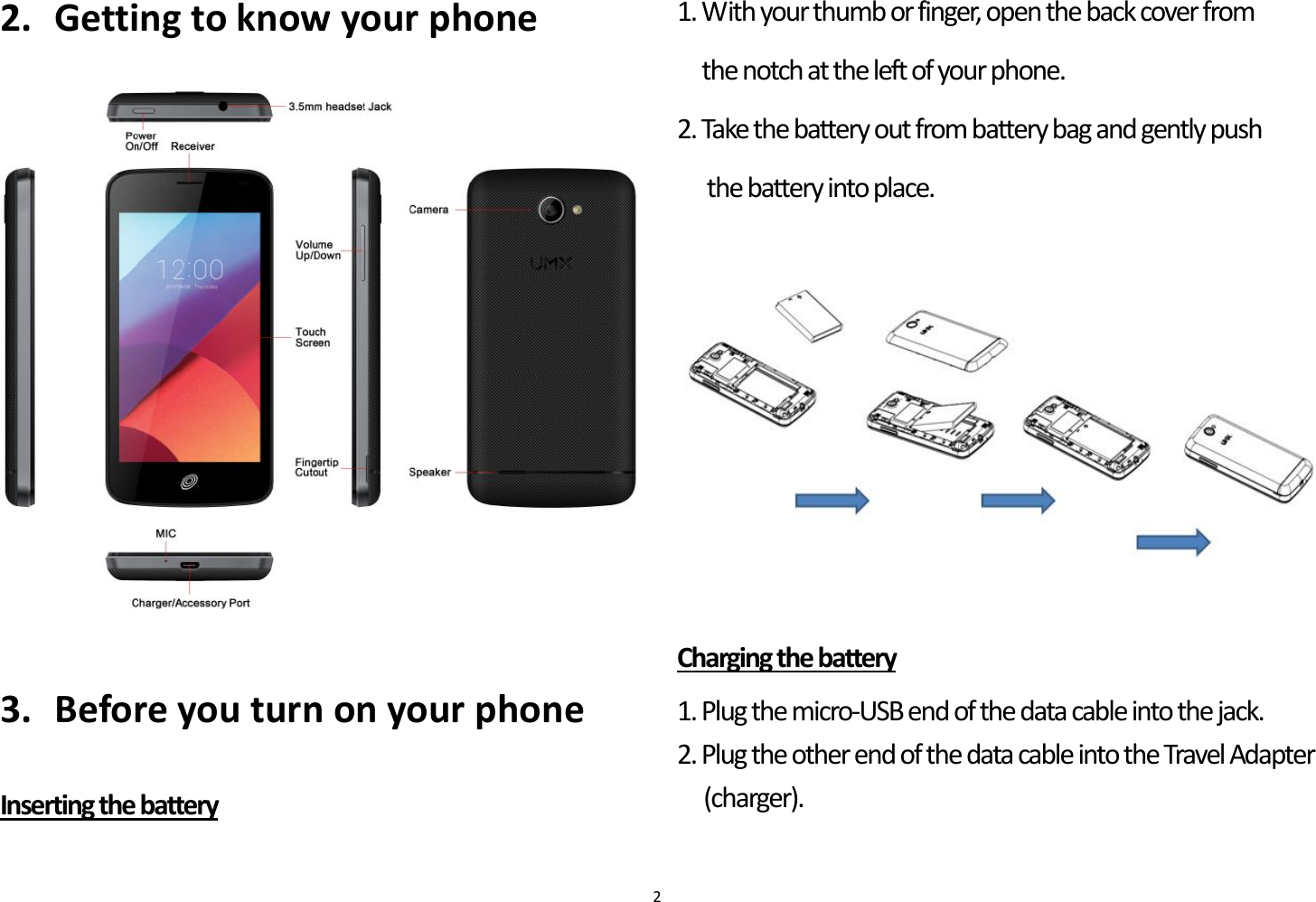 touchdown for smartphones user guide