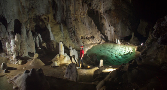 horne lake caves self guided tour
