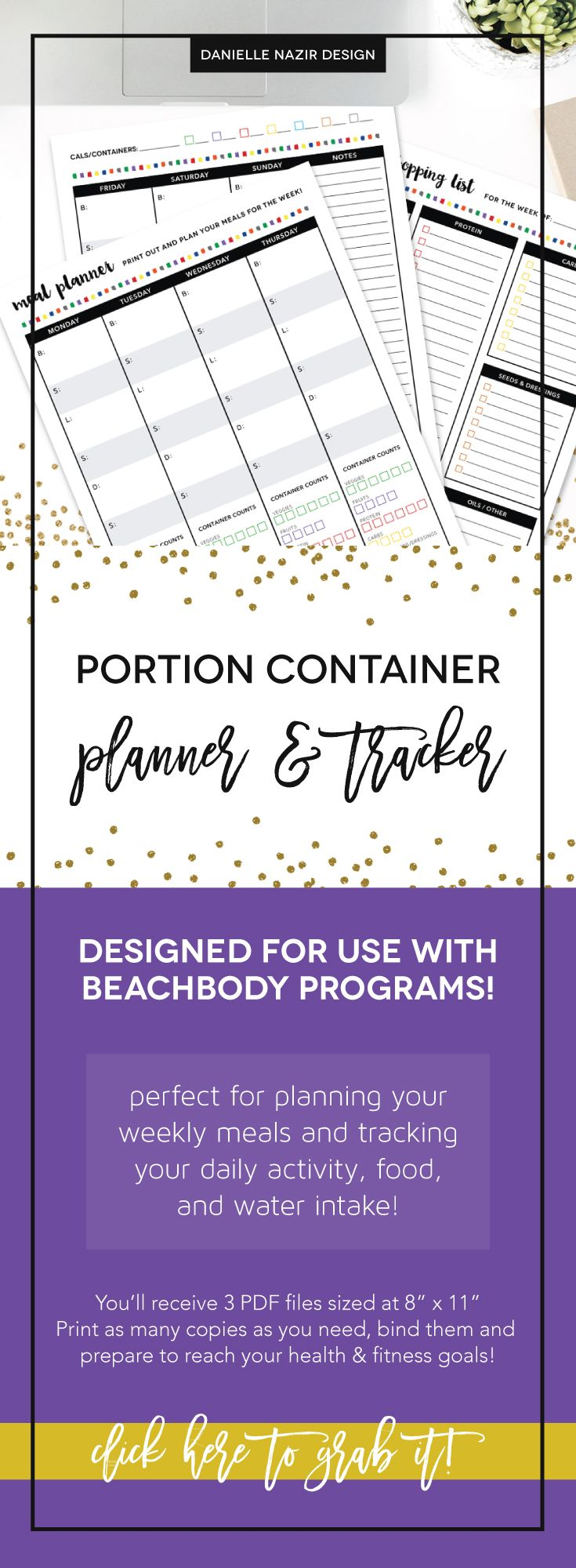 get fit perfect portions meal plan & recipe guide