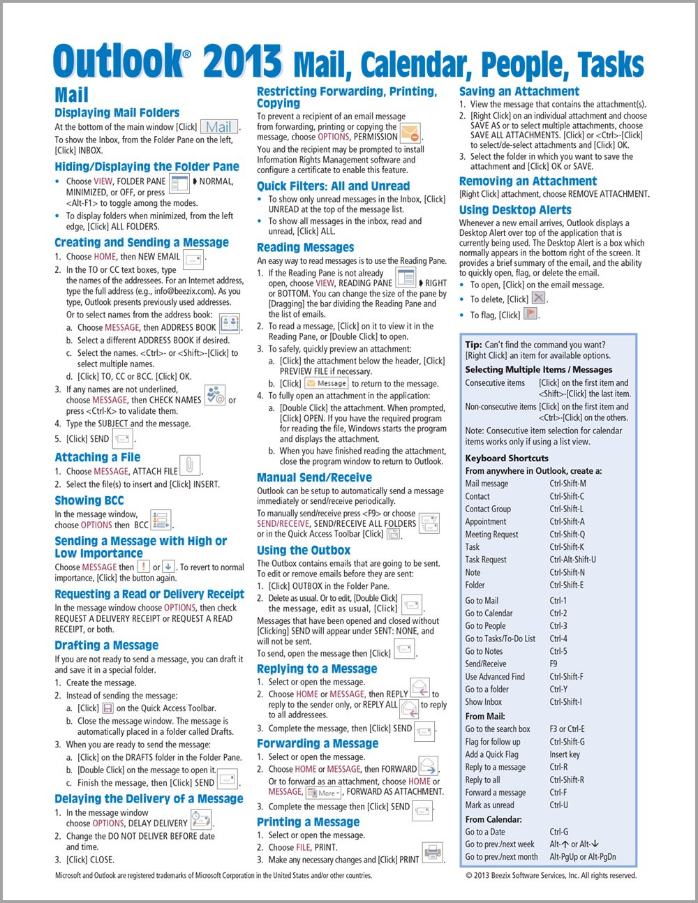 microsoft excel 2013 introduction quick reference guide