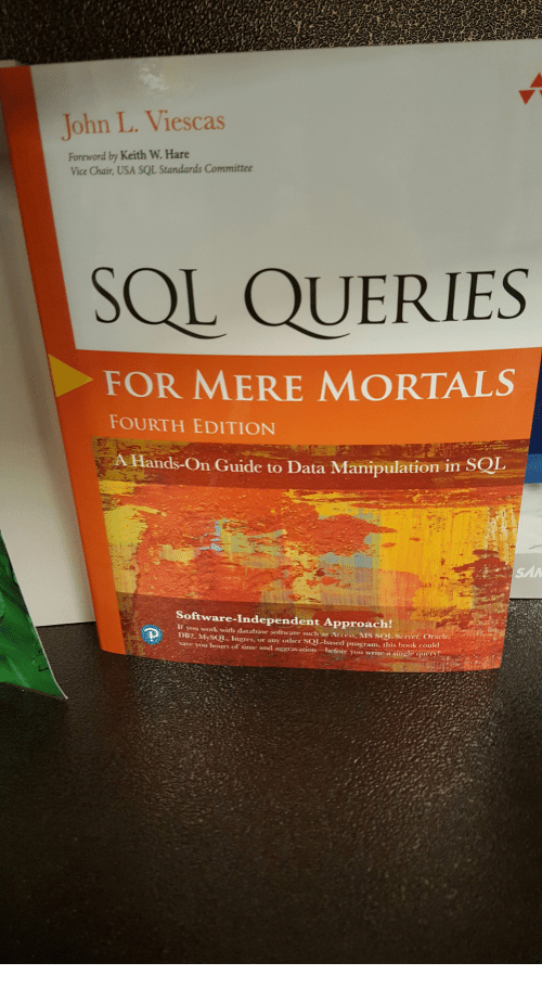 a guide to the sql standard