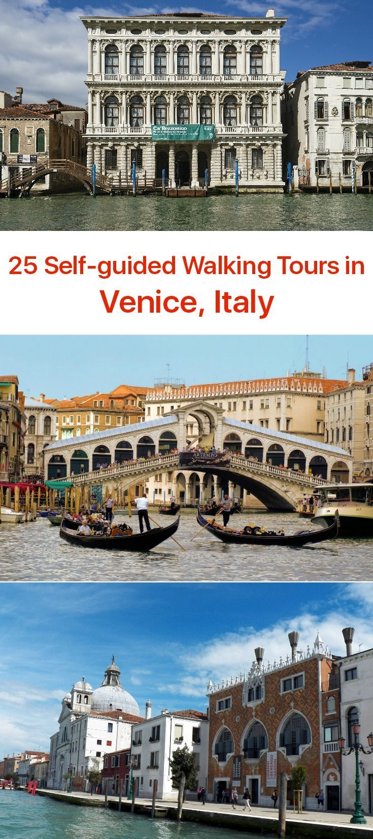 venice walking tour self guided