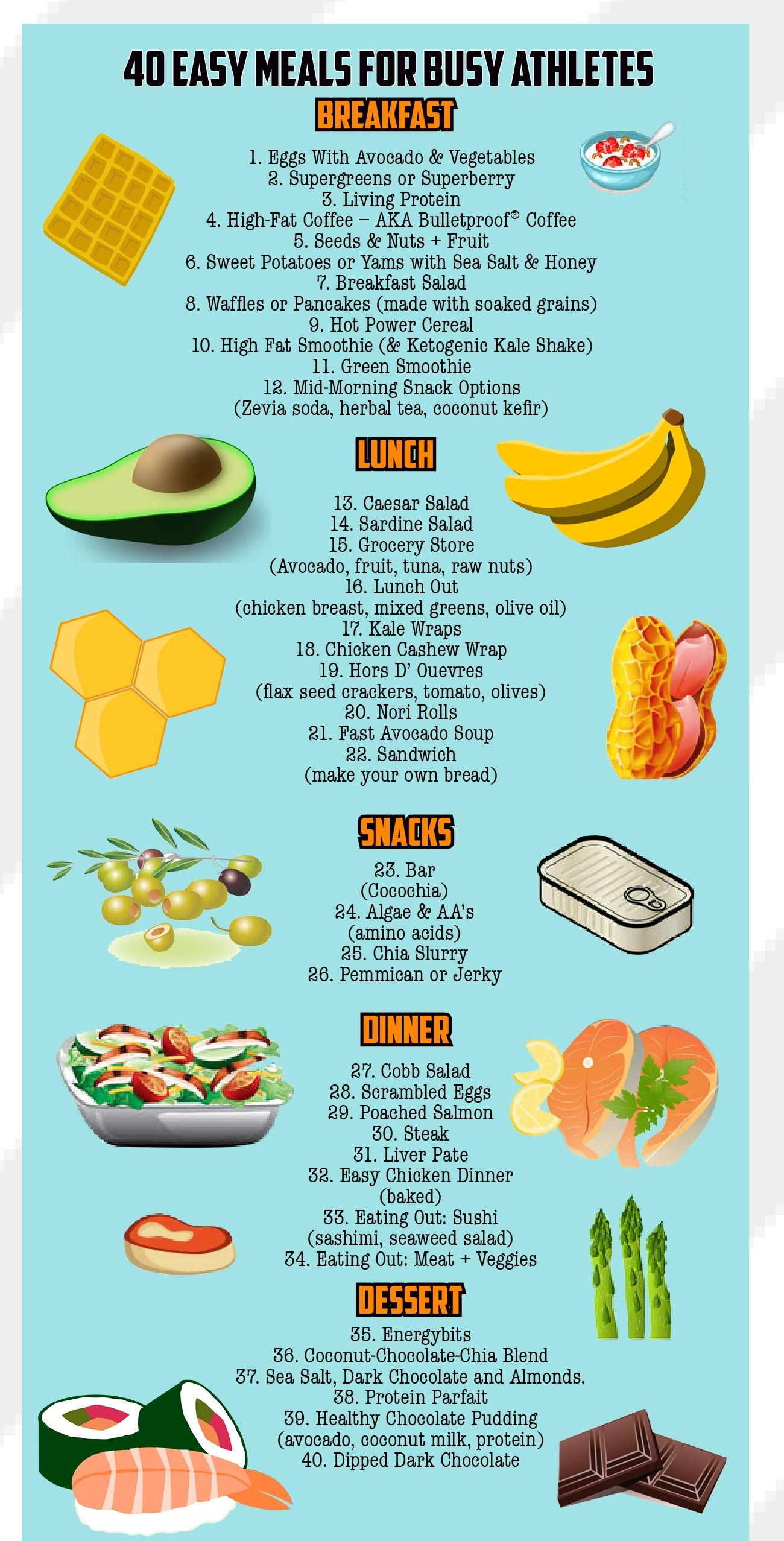 guide to the good life recipes