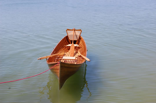 used kevlar adirondack guide boat for sale