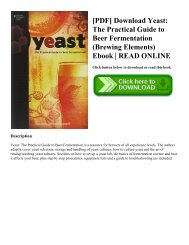 yeast the practical guide to beer fermentation pdf download