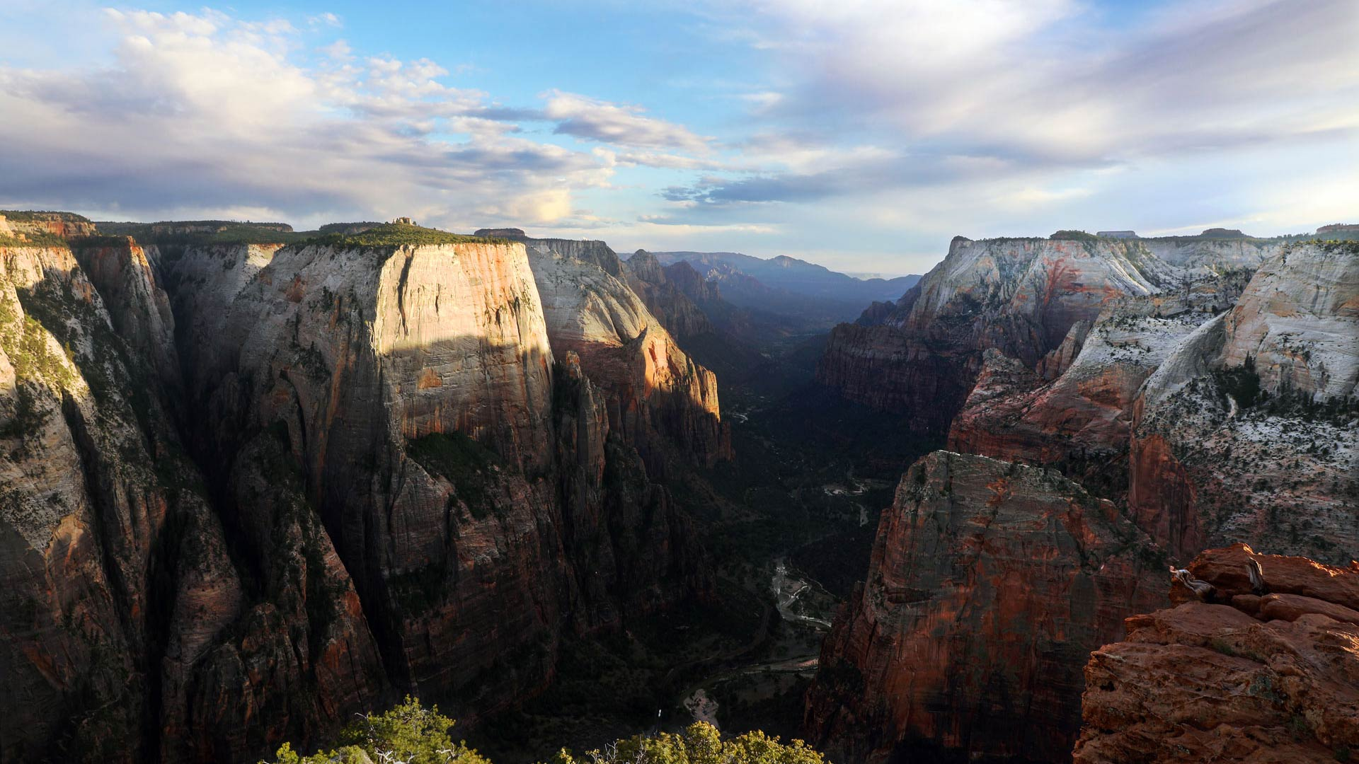 zion national park map and guide 2017